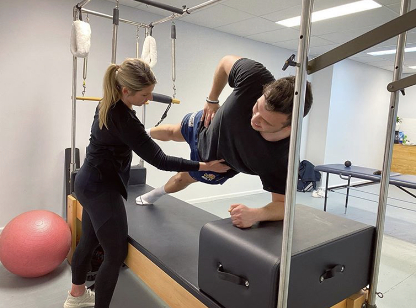 Clinical Pilates by physiotherapist